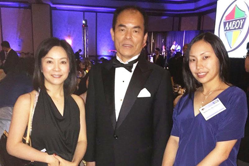 Asian American Engineer of the Year Award 2015 with Dr Shuji Nakamura